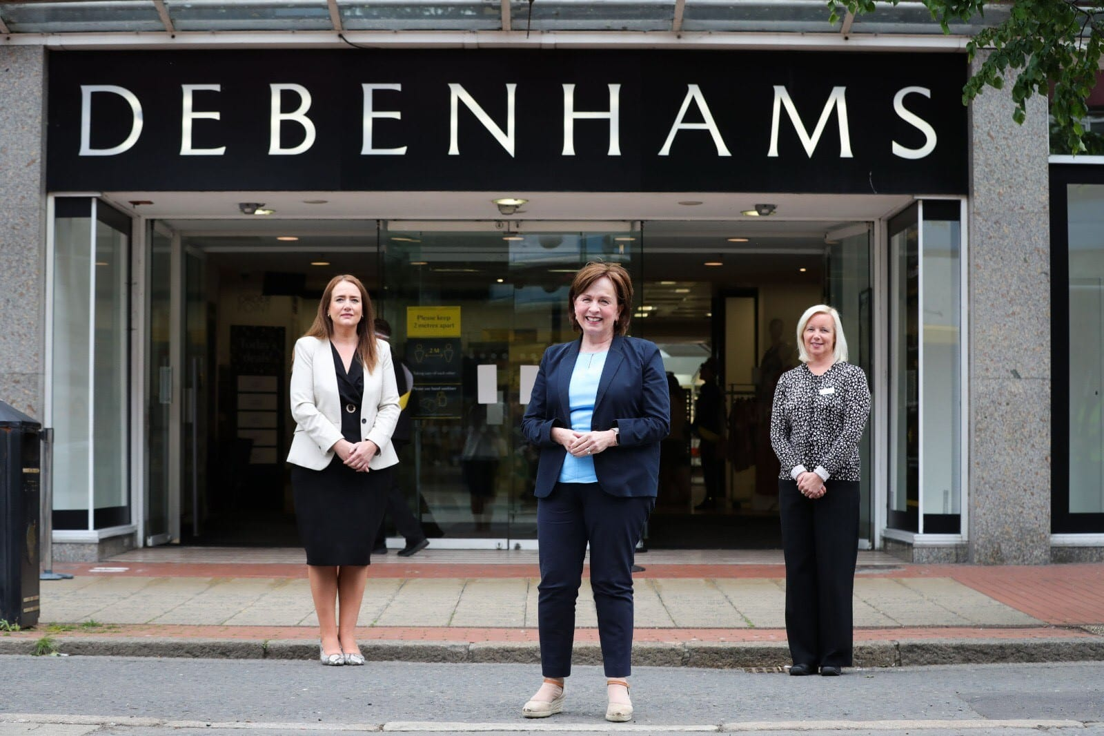 Debenhams reopens at CastleCourt!